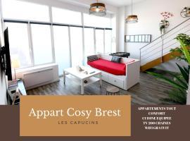 Appart Cosy Brest (les Capucins), hôtel à Brest