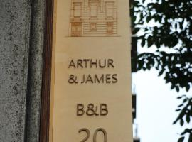Arthur and James, hotel near Antwerp Central Station, Antwerp