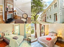 Savannah Magic 3-bedroom Townhouse on Forsyth, vacation rental in Savannah