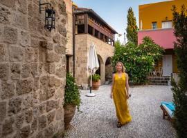 Saint Artemios Hotel and Oriental Suites, romantic hotel in Rhodes Town