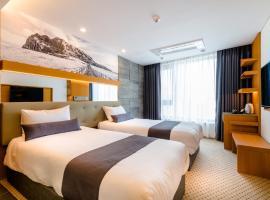 ASIA Hotel、済州市のホテル