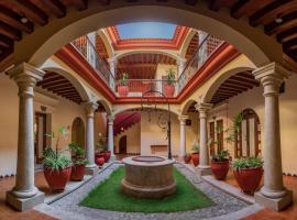 Hotel Casa Barrocco Oaxaca, hotel in Oaxaca City