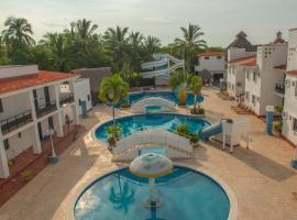 HOTEL VILLA AZUL, hotel en Barra de Navidad