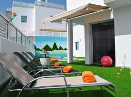 BIG VILLA IN TAURO WITH PRIVATE HEATED POOL & BBQ & GAME ROOM, golf hotel in Mogán