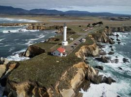 Point Arena Lighthouse, lodge in Point Arena