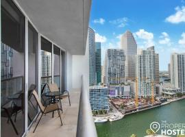 UPSCALE ICON Brickell- Pool, Gym, Spa- Luxury Mgmt, apartment in Miami