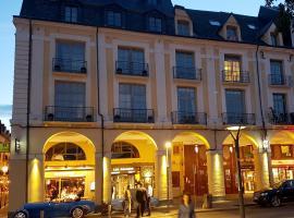 LES ARCADES, hotel in Dieppe