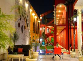 Hotel Mejorada Merida, отель в городе Мерида