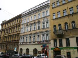 EA Hotel Tosca, hotel en Vinohrady, Praga
