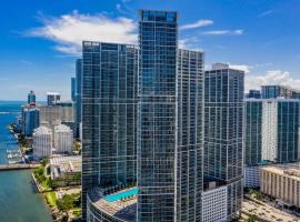 MIAMI ICON TOWER DESIGN Luxury Apartments, hotel in Miami