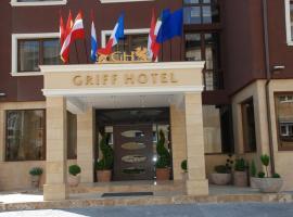 Griff Hotel Zalau, hotel in Zalău