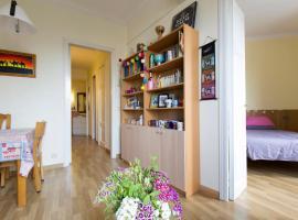Villa Vilella, quarto em acomodação popular em Barcelona