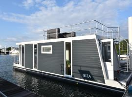Tiny floating house Ibiza, self catering accommodation in Maastricht