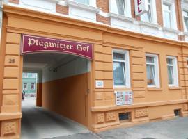 Hotel & Pension Plagwitzer Hof, отель в Лейпциге
