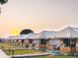 Rawai Luxury Tents Near Brahma Temple, accessible hotel in Pushkar
