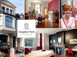 B&B Josaphat Park, boutique hotel in Brussels