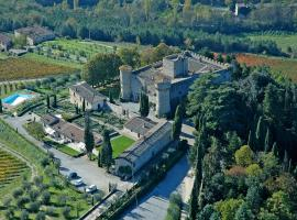 Castello Di Meleto, country house in Gaiole in Chianti
