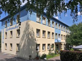 Hotel Bertramshof, Hotel in Wismar
