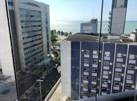 Melhor Estúdio de Luxo Boa Viagem, 50m da Praia, apartment in Recife