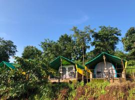 Ananta Ecostays, campsite in Khodāla