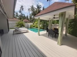 Coconut Palm Pool Villa, hotel in Koh Samui