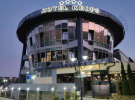 Hotel KEOPS - SPA & Casino, hotel in Bitola