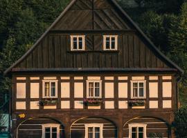 Pension Rokytka, Hotel in der Nähe von: Transporter Bridge, Kryštofovo Údolí
