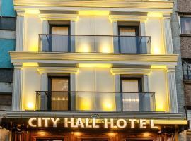 City Hall Hotel, hotel poblíž významného místa Velký bazar, Istanbul