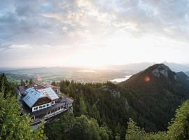 Burghotel Falkenstein, hotel near Neuschwanstein Castle, Pfronten