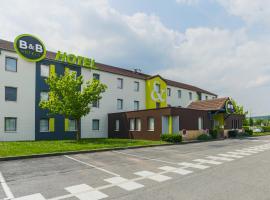B&B Hôtel METZ Semécourt, hôtel à Semécourt près de: École de ski d'Amneville