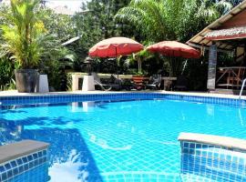 Baan Sukreep Resort, hotel i nærheden af Chaweng Viewpoint, Chaweng Noi Beach