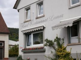 Hotel-Restaurant Lamm, hotel in Rietheim-Weilheim