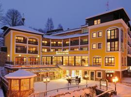 Hotel Saalbacher Hof, hotelli Saalbachissa