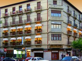 Hostal Navarra, hotel in Pamplona