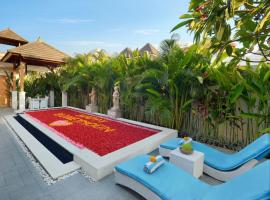 Holl Villa, hotel with jacuzzis in Legian