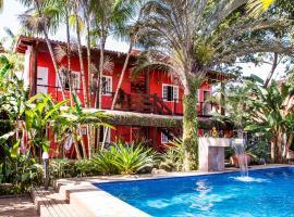 Pousada Palmeira Imperial, hotel em Paraty
