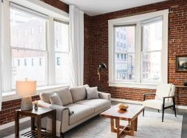 Spacious DT 2BR with Full Kitchen by Zencity, vacation rental in Saint Louis