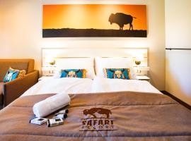 Residence Safari Resort - Bison Lodge, hotel v Borovanech