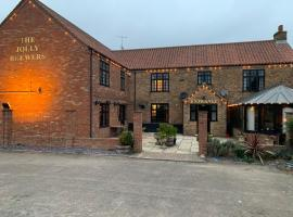 Jolly Brewers, hotel near Weeting Castle, Shouldham Thorpe