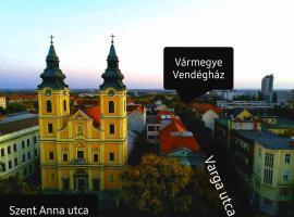 Vármegye vendégház, panzió Debrecenben