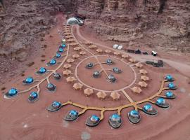 Memories Aicha Luxury Camp, luxury tent in Wadi Rum