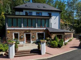 Bílý Mlýn – hotel w mieście Liberec