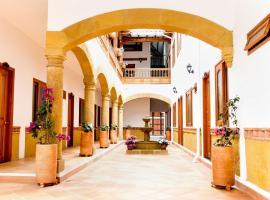 Hospederia Villa de los Sáenz, hotel in Villa de Leyva