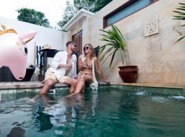Ke Rensia Private Pool Villas Gili Air, villa in Gili Air