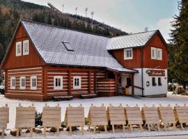 Pension Roubenka, hotel poblíž významného místa Skokanské můstky Harrachov, Harrachov