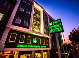 Edrin Butik Hotel, хотел в Одрин