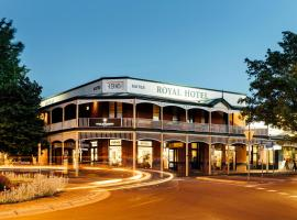 The Royal Daylesford Hotel, accommodation in Daylesford