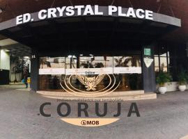 Flat Crystal Place, accessible hotel in Goiânia