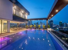 Residence 105 Hotel and Apartment, apartment in Phnom Penh