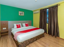Capital O 89538 Ocean Hotel,納閩的飯店